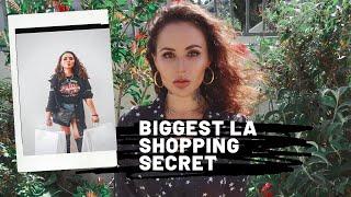 Biggest LA Shopping Secret REVEALED 🤫🤫    SAMPLE SALES