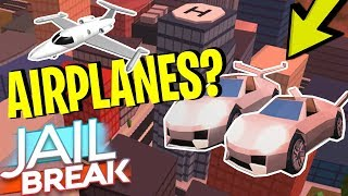 ROBLOX JAILBREAK AIRPLANE UPDATE? (WITH PROOF?!) *NEW*
