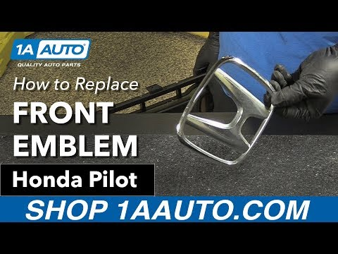 How to Replace Front Emblem 03-08 Honda Pilot