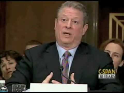 Al Gore Testifies in US Congress about 350