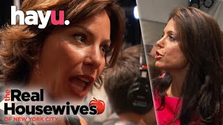 The Real Housewives of New York City | Luann And Bethenny Fight At The Fashion Show
