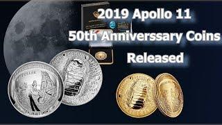 US Mint Releases 2019 Apollo 11 50th Anniversary Commemorative Coins