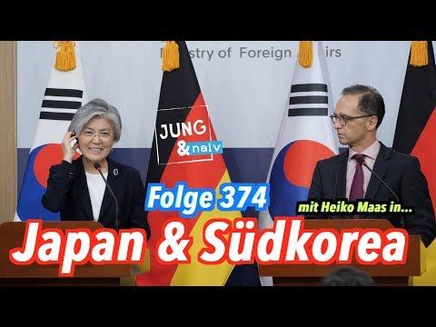 Mit Außenminister Heiko Maas in Japan & Südkorea - Jung & Naiv: Folge 374 (4K)