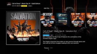 HOW TO PREDOWNLOAD Black ops 3 dlc 4