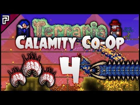 ⭐️ Time To Redeem Ourselves I Think! | Terraria Calamity Mod Co-Op Playthrough [#4]