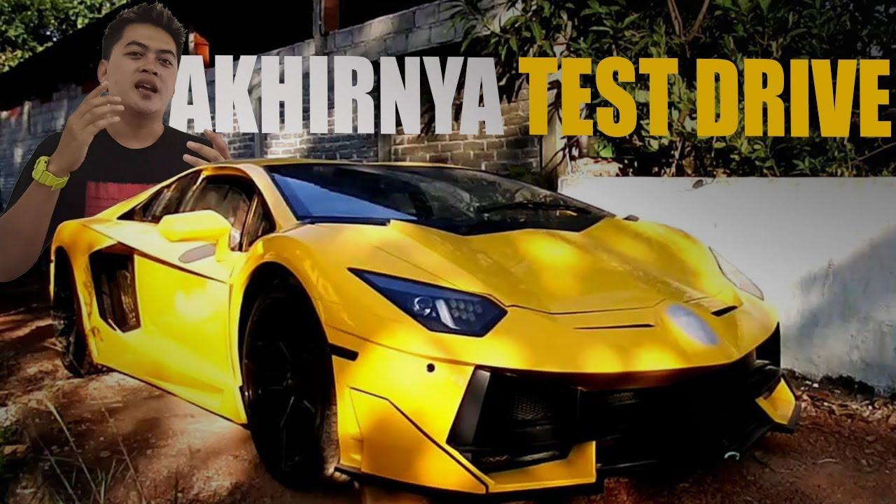 Test Drive Awal Lamborghini Gunungkidul, Terhalang Jalan Ekstrim !!!