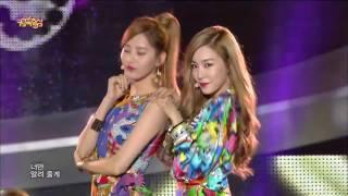 HOT Girls Generation TTS   Holler   Show Music core 20141004