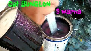 Cat BUNGLON 3 WARNA khameleon 3D