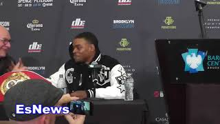 Errol Spence Jr Reveaks He Will Not Be Going To Wait For Keith Thurman - EsNews Boxing