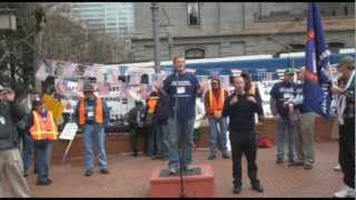 Save the Post Office Rally and March - Portland Oregon 3.17.13