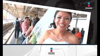 Novia en apuros toma el metro para llegar a su boda  | Noticias con Ciro Gómez Leyva