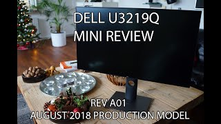 dell U3219Q mini review