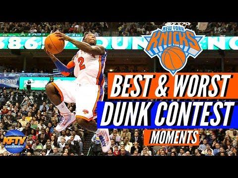 NBA Slam Dunk Contest: New York Knicks Edition| The Best & Worst Moments 🏀