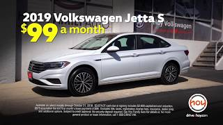 2019 Volkswagen Jetta $99/mo October Lease Special from Hoy Volkswagen El Paso [HD]