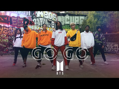 BTS (방탄소년단) - GO GO (고민보다 GO) Dance cover by RISIN'CREW from France