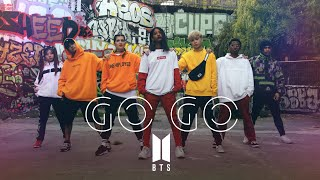 BTS (?????) - GO GO (???? GO) Dance cover by RISIN'CREW from France MP3