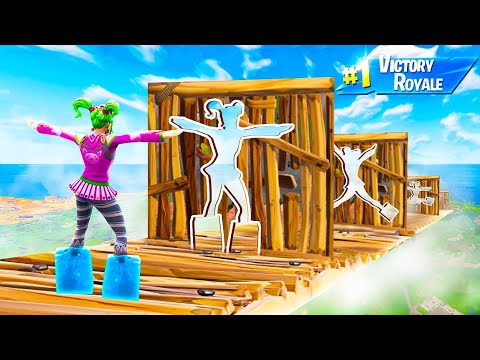 IMPOSSIBLE DON'T MOVE OBSTACLE COURSE! (Fortnite Funny Moments)