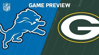 Lions vs. Packers (Week 3 Preview) | Around the NFL Podcast | NFL