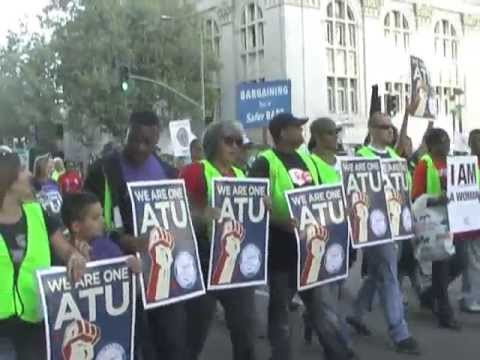 Bay Area Labor Unites For BART Workers In Oakland-Stop The War On Working People