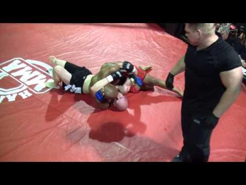 Hardrock MMA 55 Fight 9 Steve Bell vs Jeremy Craig Round 2