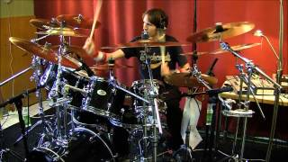 Iron Maiden Different World Drum Cover