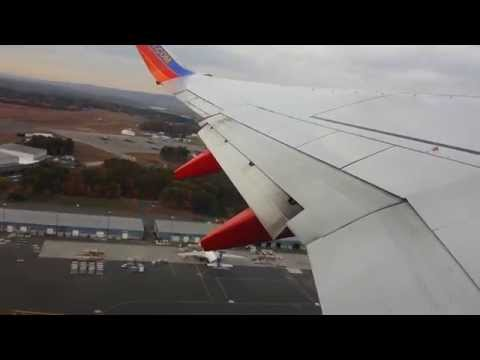 Southwest Airlines Boeing 737 - Take Off At Bradley International Airport