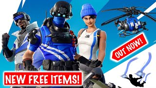 *NEW* FREE ITEMS IN FORTNITE! [Glider, Contrail & loading screen] (Fortnite Battle Royale)