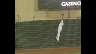 Jaylin Davis Flashes the Leather in Rehab Game with Sacramento (6-17)