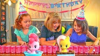 My Little Pony Cutie Mark Crew Surprise Birthday Party