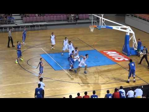 Ελλάδα - Γαλλία 65-76 [1η ΗΜΕΡΑ: Τουρνουά «Γ. Κολοκυθάς» Ηράκλειο 2013]