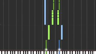 "Pokémon Yellow ""Hurry, Get Away!"" (Unused Theme) on Synthesia"