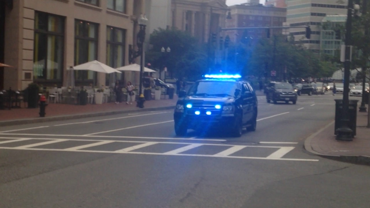 Boston Police SWAT Team SUV Responding In Boston BIG TIME!!!!! - YouTube
