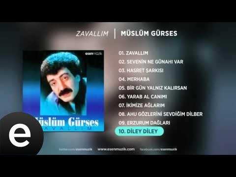 Diley Diley (Müslüm Gürses) Official Audio #dileydiley #müslümgürses