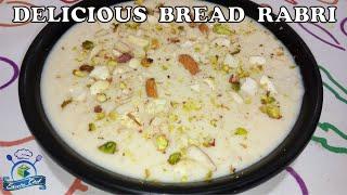 Instant Bread Rabdi recipe | गाढ़ी रबड़ी बनाने का आसान तरीका | SHEEBA CHEF