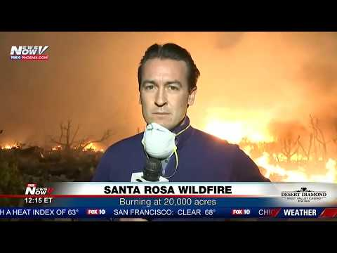FNN: Massive Santa Rosa fires, Anaheim Hills Canyon Fire 2, White House vs. NFL showdown