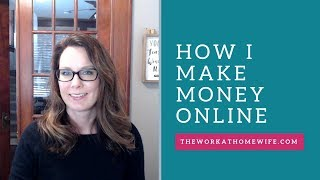 If you have been following my channel for a while, may be wondering how i make money online. totally legit question! working from home full-t...