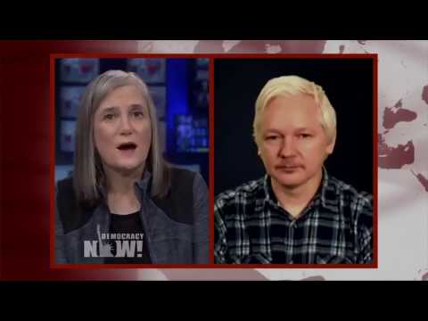 Julian Assange Interview on Democracy Now | April 10th, 2017