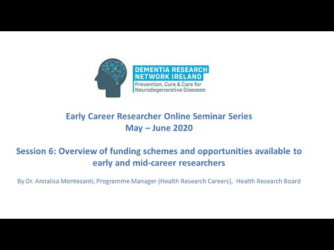 Funding Schemes & Opportunities for Early and Mid-Career Researchers