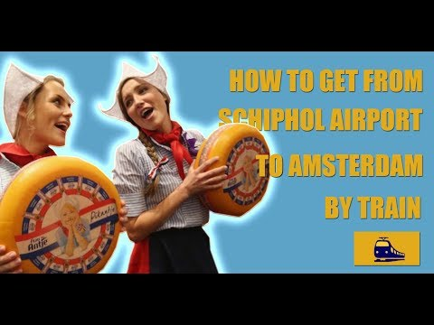 How To Get From Schiphol Airport To Amsterdam City Center By Train