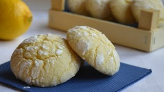 Biscotti morbidi al limone. Lemon soft biscuit