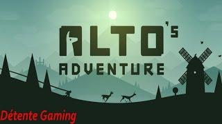 ALTO'S ADVENTURE -  Mon test en français !