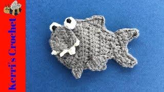 Small Shark Crochet Tutorial