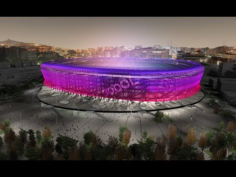 Inside FC Barcelona's ambitious plan to reinvent the Camp Nou, by Wired and Audispain