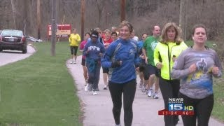 Local running group runs in honor of Boston marathon tragedy