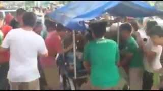 aficionados mexicanos roban a taquero . Monclova coahuila