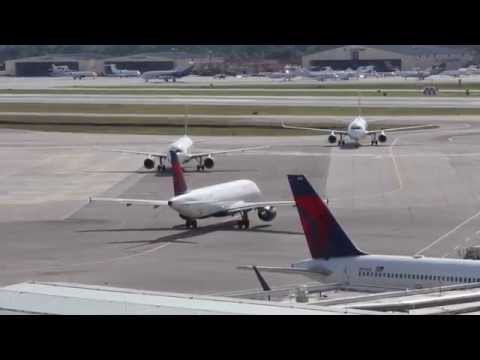Busy Ramp at PBI - West Palm Beach Airport