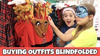 Buying Entire Outfits Blindfolded Challenge!