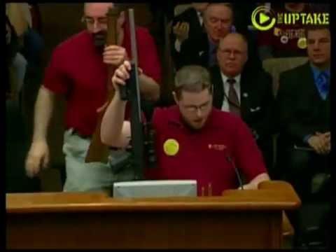 Cowardly liberal legislator skips two-day hearing on her own gun-control bills!