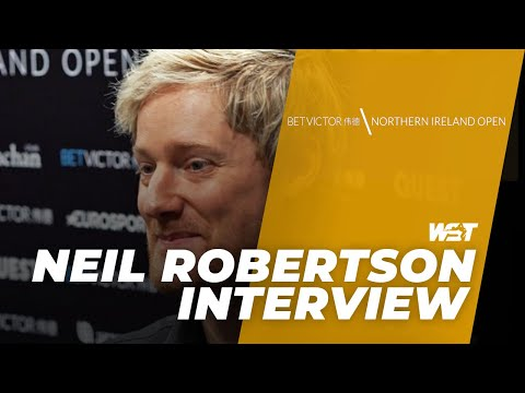 Newly-Wed Neil Robertson Whitewashes Xu Si In Round One | BetVictor Northern Ireland Open
