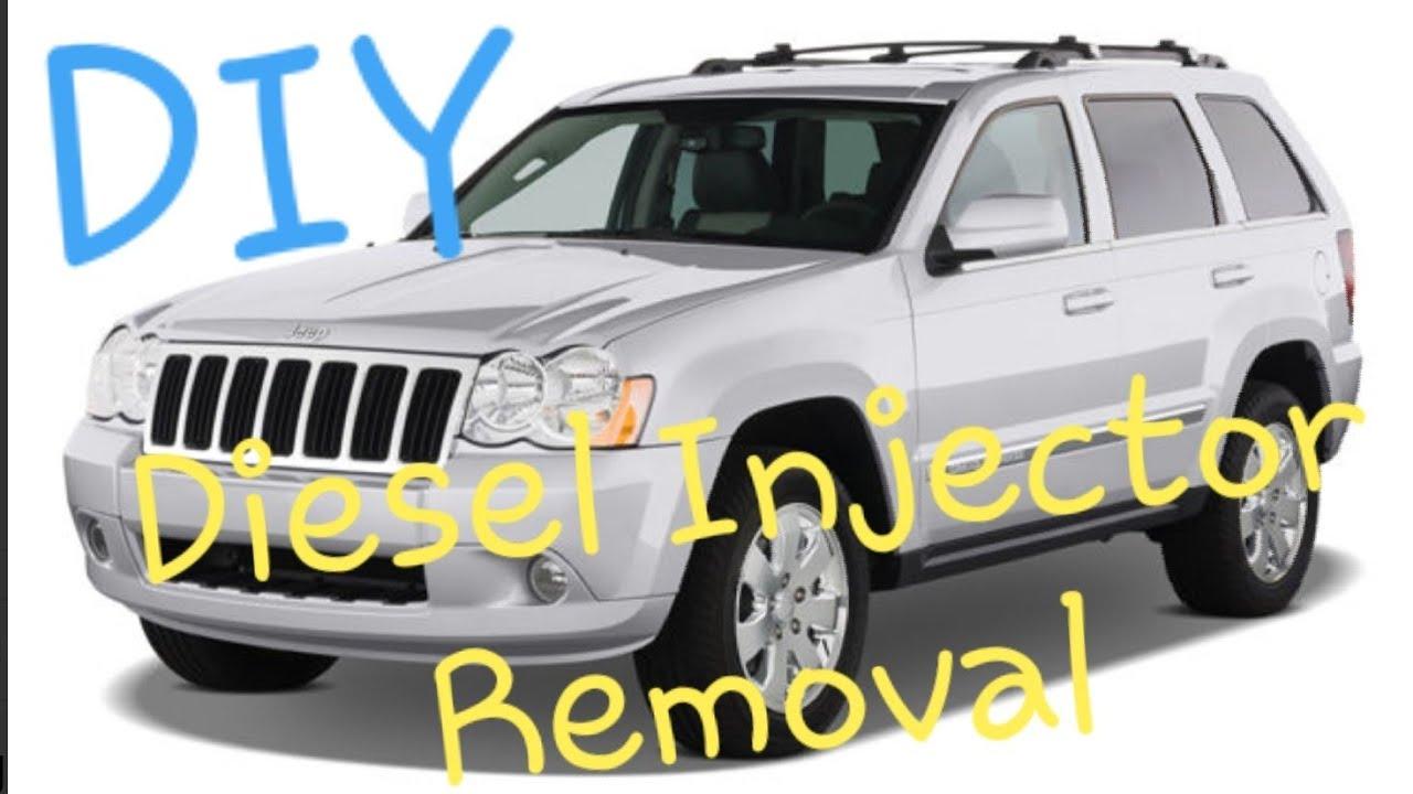 2008 jeep grand cherokee 3.0 diesel injectors